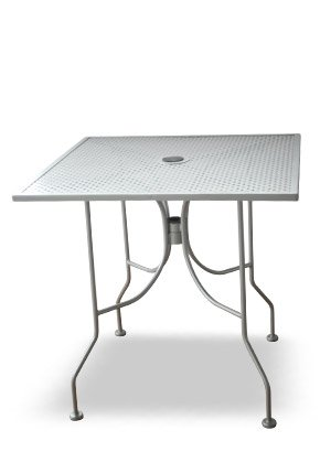 Euroma Outdoor Metal Patio Dining Table